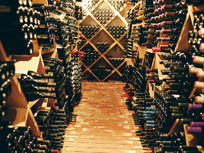 Off-site wine storage is an option for collectors running out of space in their home cellar, or those seeking to lay down an exceptional bottle that would benefit from aging. Photograph: Getty Images. Banner image: Shutterstock