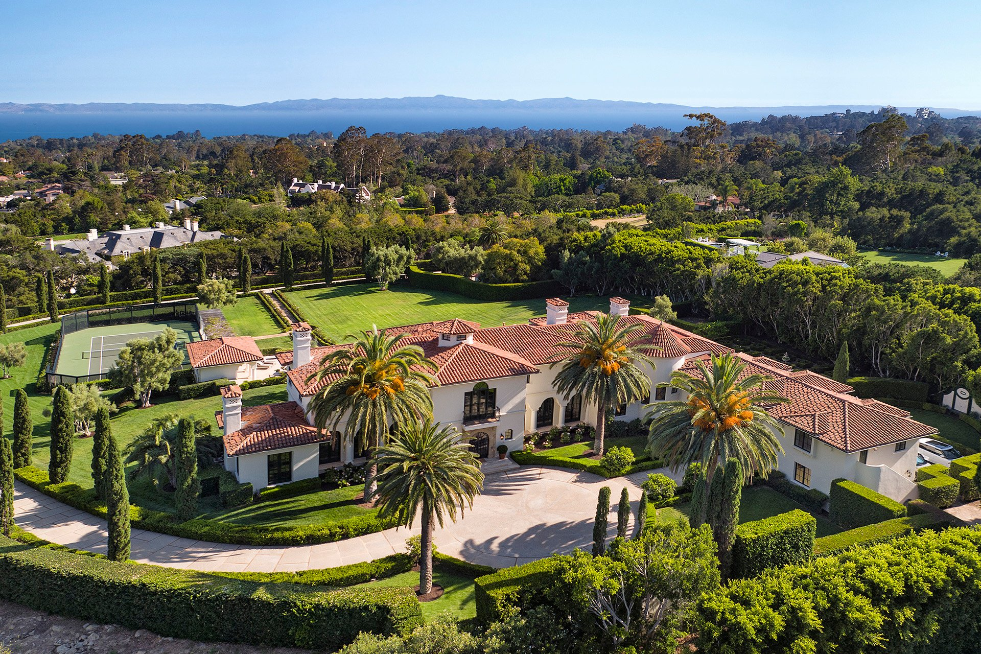 Grand Newly Renovated Estate, Montecito, California