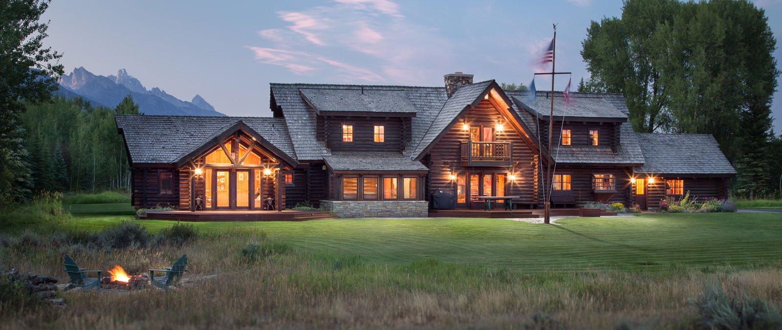 Marvelous Six Luxury Log Homes