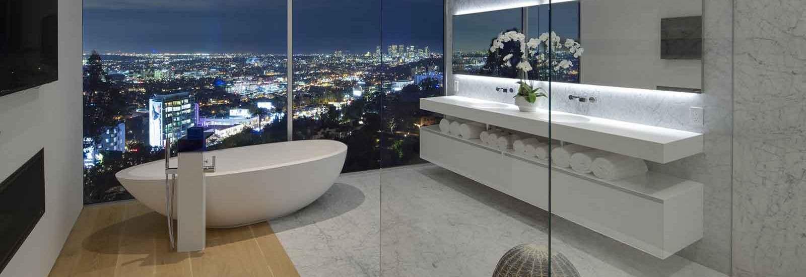7 Dream Bathrooms With Spa Style Luxury Christies International - Villa-in-sardinia-by-antonio-lupi