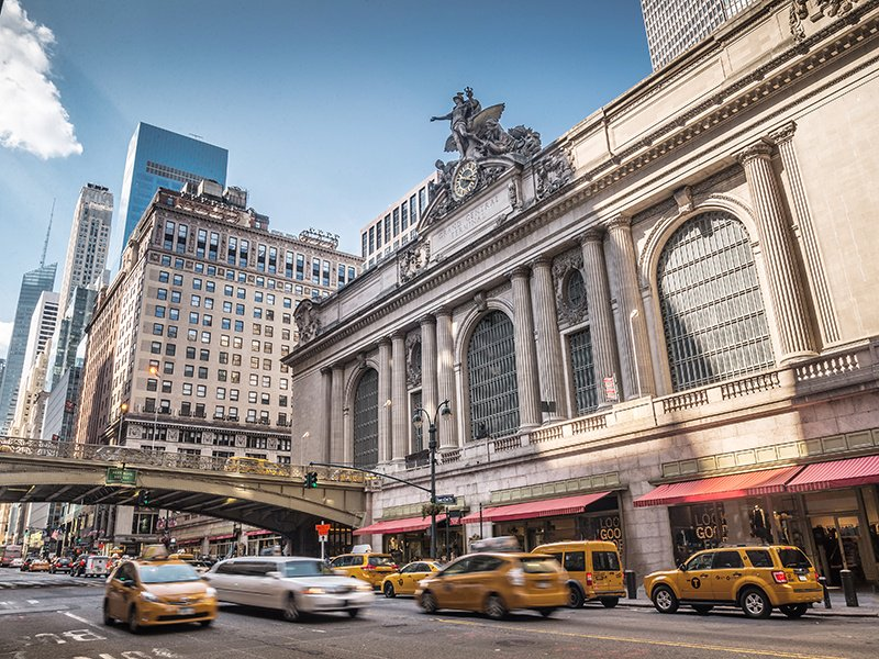 Grand Central Terminal, on Manhattan's 42nd Street, is a world-renowned feat of engineering and architectural splendor, and is designated a US National Historic Landmark. Photograph: Getty.