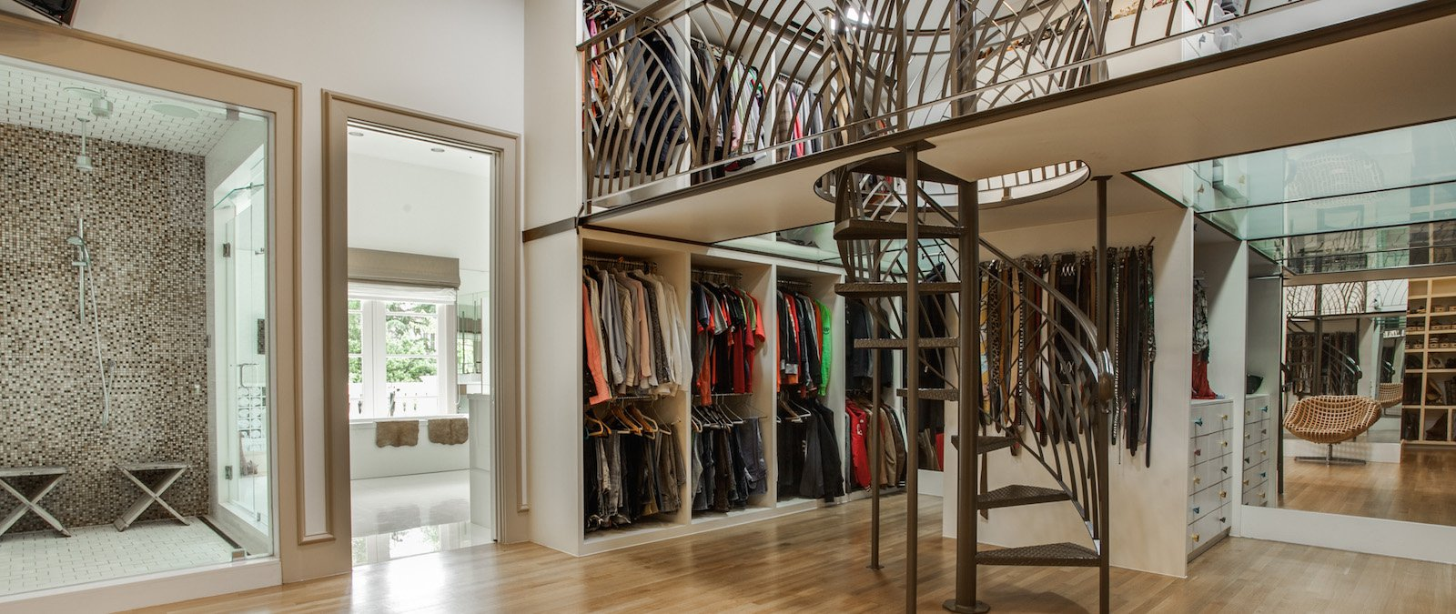 Great Estates With Luxurious Closets