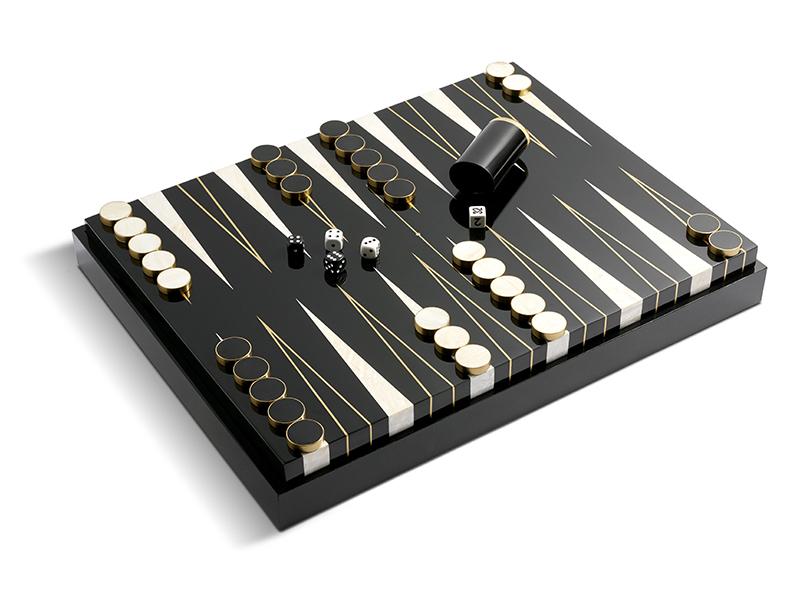 LObjet backgammon set