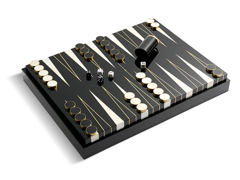 LObjet backgammon set