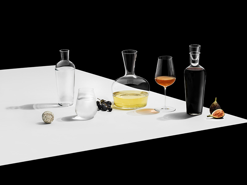 1 Collection glassware