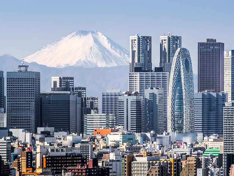 Tokyo-skyline-high-rise-buildings