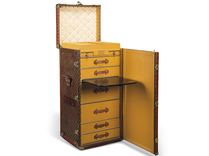 Louis Vuitton Toile Monogram desk trunk
