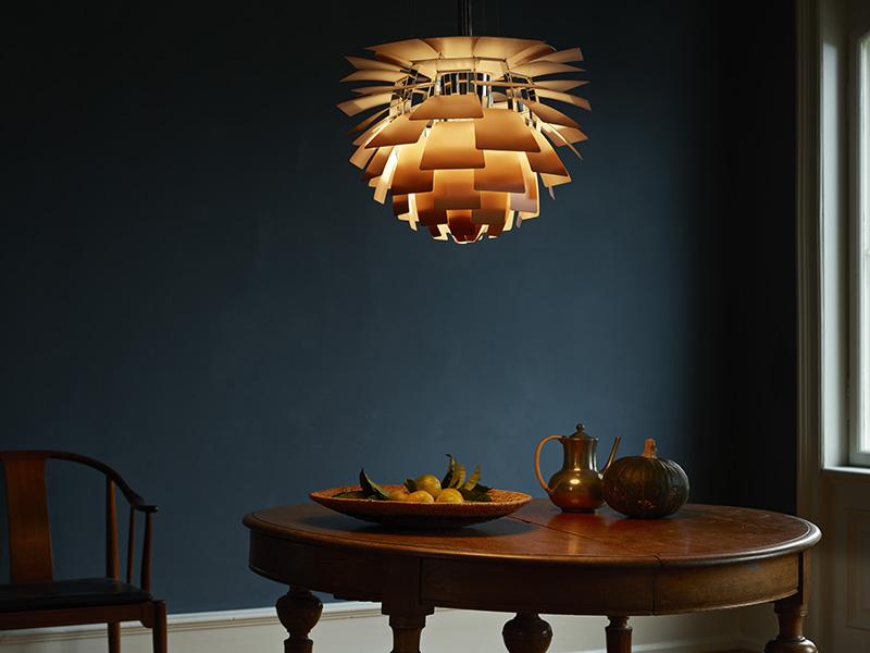 Artichoke Copper Brass light