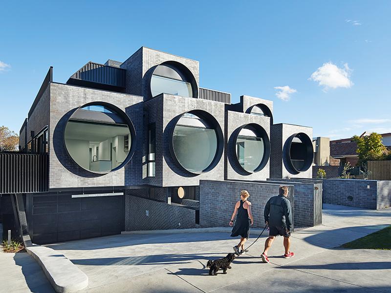 BKK Architects Cirqua Apartments Peter Bennetts