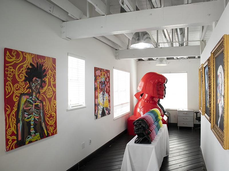 Bradley Theodore studio