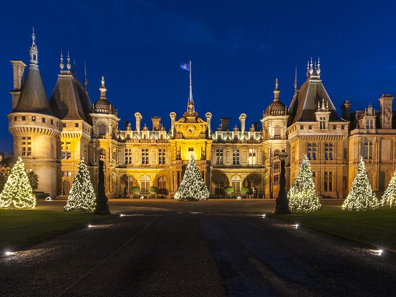 Festive-lights-Waddesdon-Manor