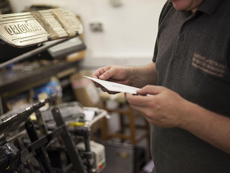 Barnard & Westwood letterpress