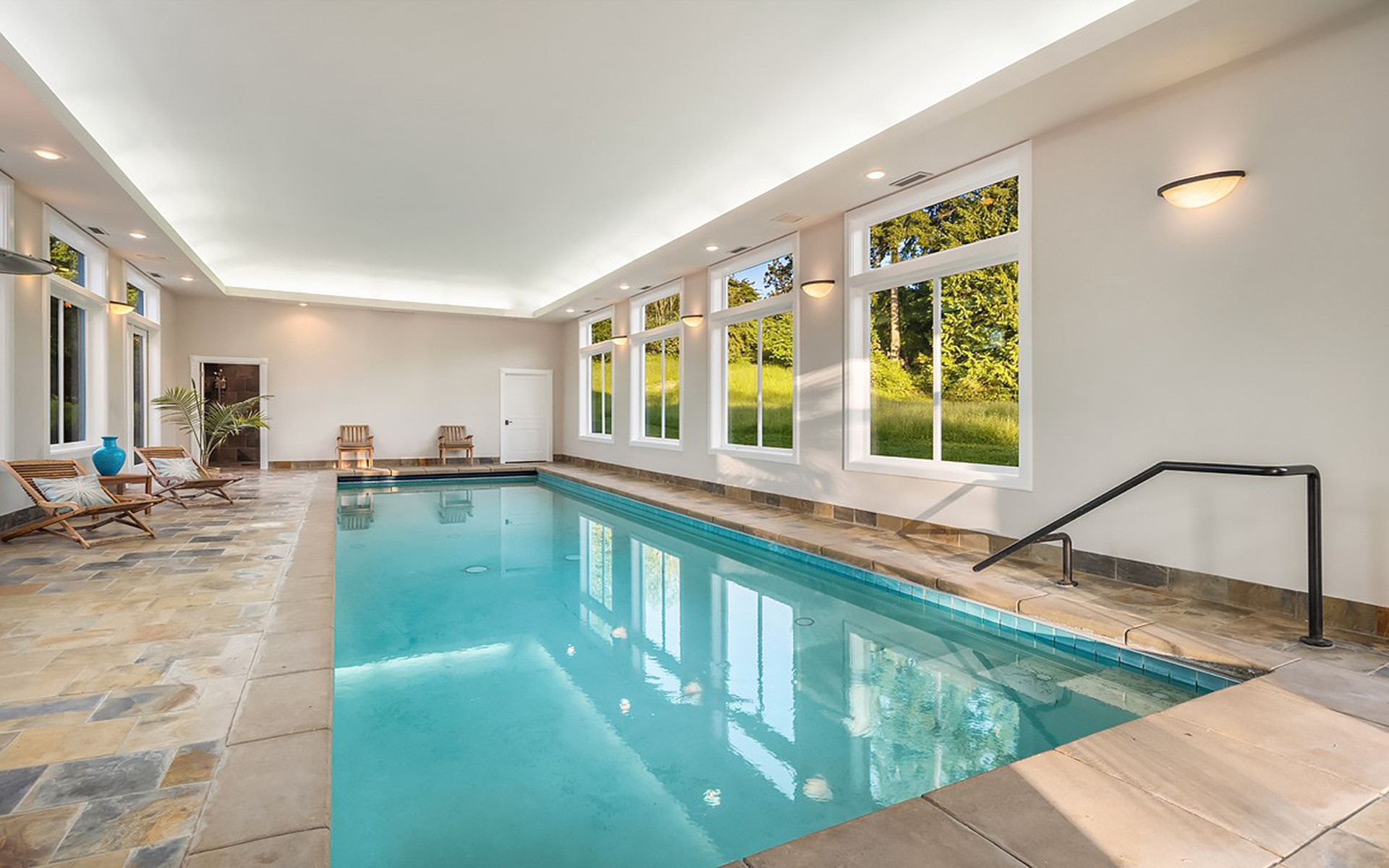5 Homes With Indoor Swimming Pools Christie S International Real