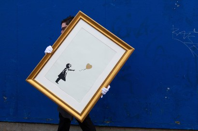 A Christie's Expert on Collecting Banksy's Street Art
