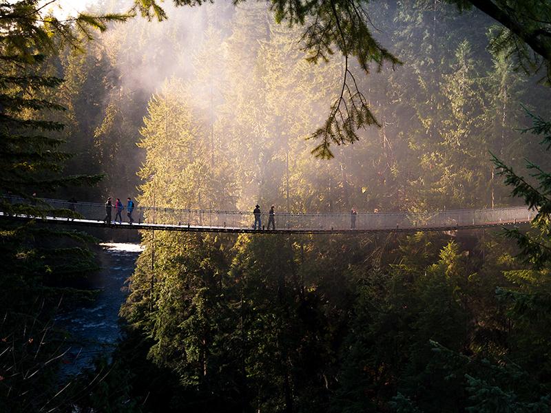 Vancouver-nature-walk-bridge-forest-GettyImages