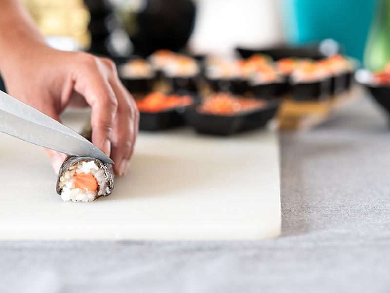 sushi making Tokyo