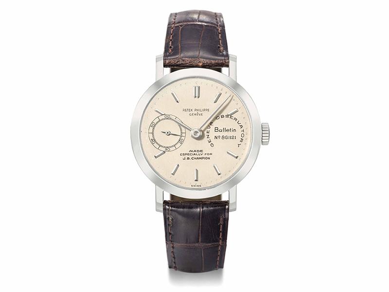 The Patek Philippe JB Champion watch