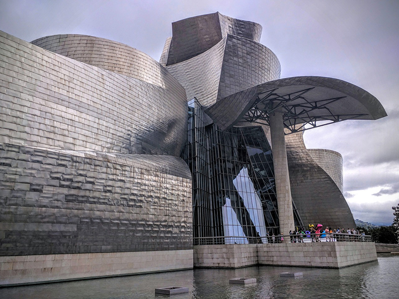 The Guggenheim Museum Bilbao in Spain offers virtual tours through video