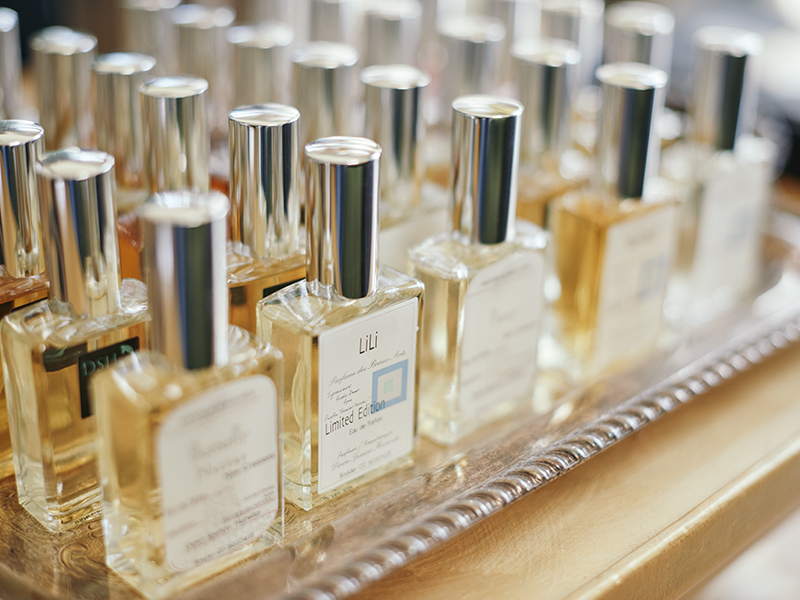 A range of home fragrances created by Dawn Spencer Hurwitz