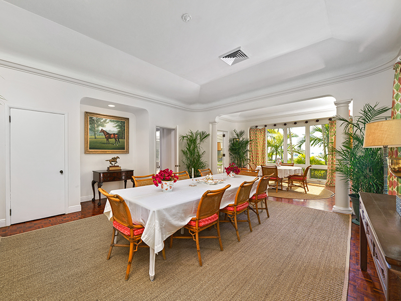 Serendip Cove dining room