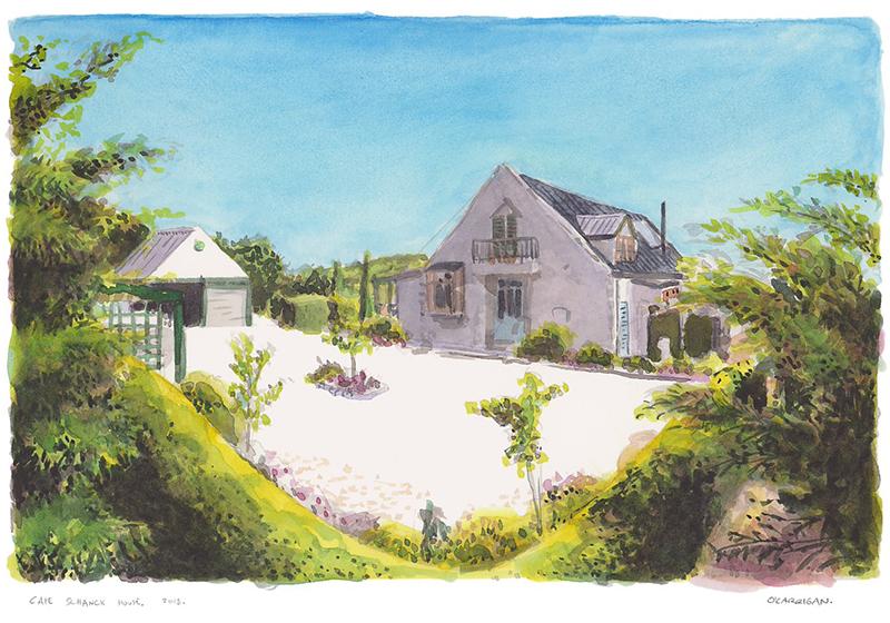 Portrait of Cape Schanck House in Mornington Peninsula by Simon O'Carrington