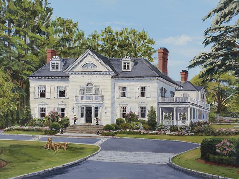 Portrait of a home by Susan Stillman