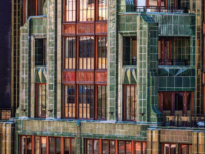 The Fitzroy facade