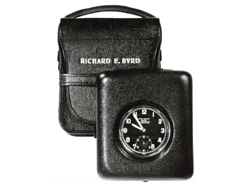 The pocket watch carried by Admiral Byrd