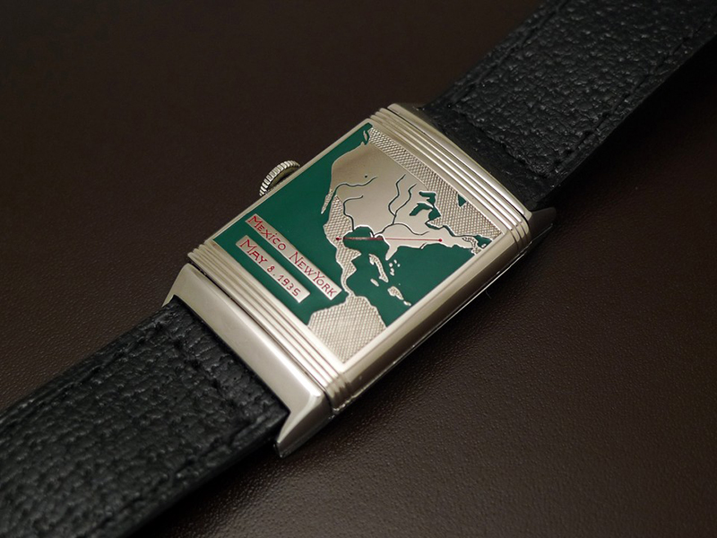 Engraving on Amelia Earhart's Jaeger Le Coultre Reverso