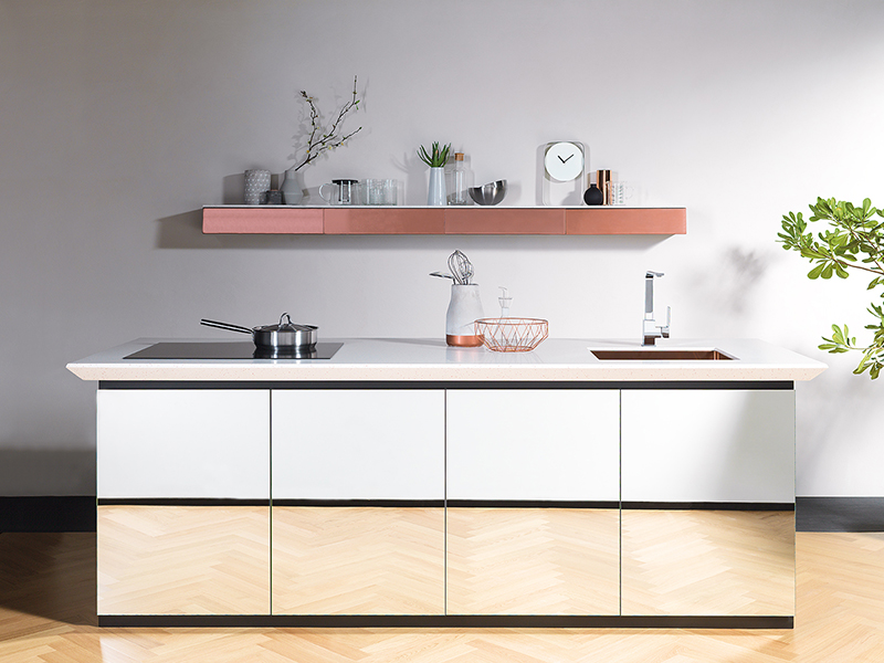 Krion kitchen by Porcelanosa