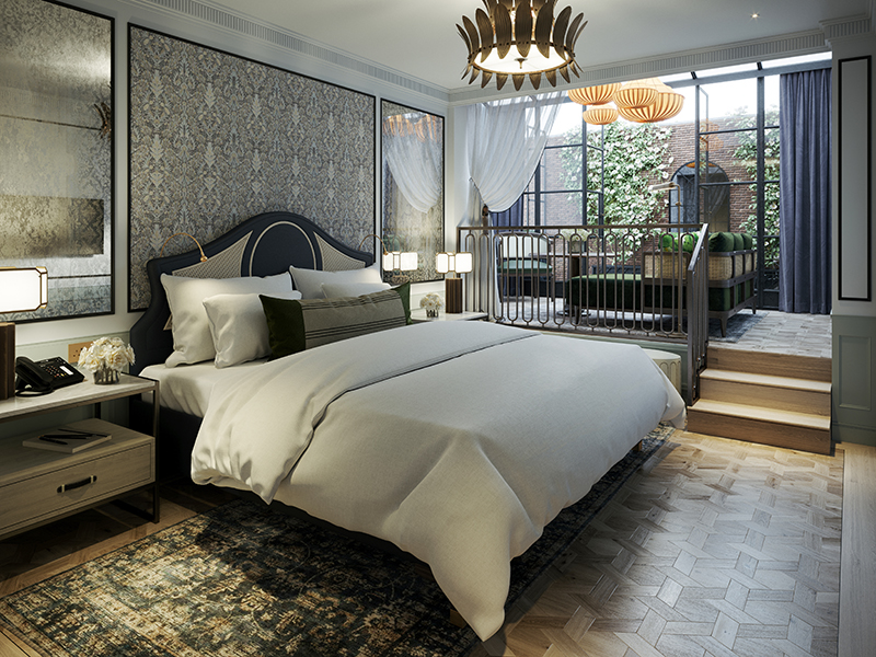 Garden Suite at The Mayfair Townhouse