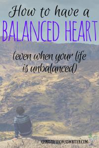 A study on what balance really looks like
