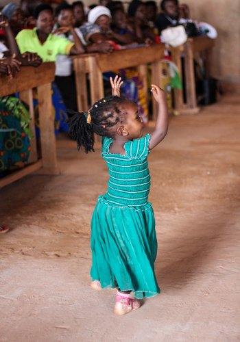 God gave us 5 senses: Dancing girl