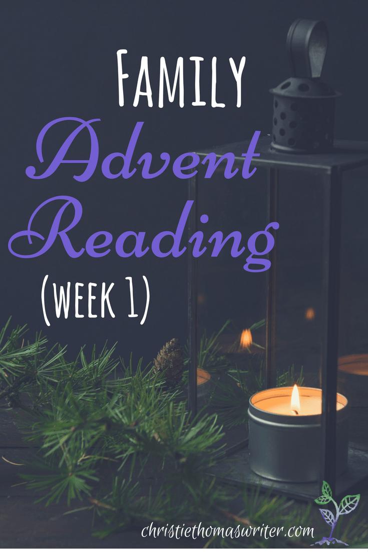 Advent Readings Week 1 Prophets