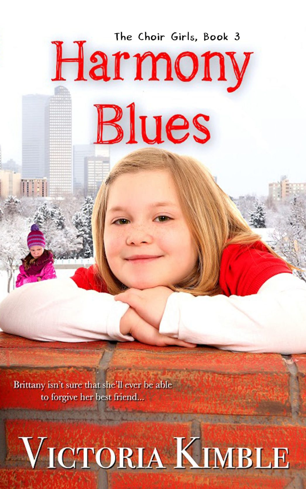Harmony Blues, a book for pre-teen girls!