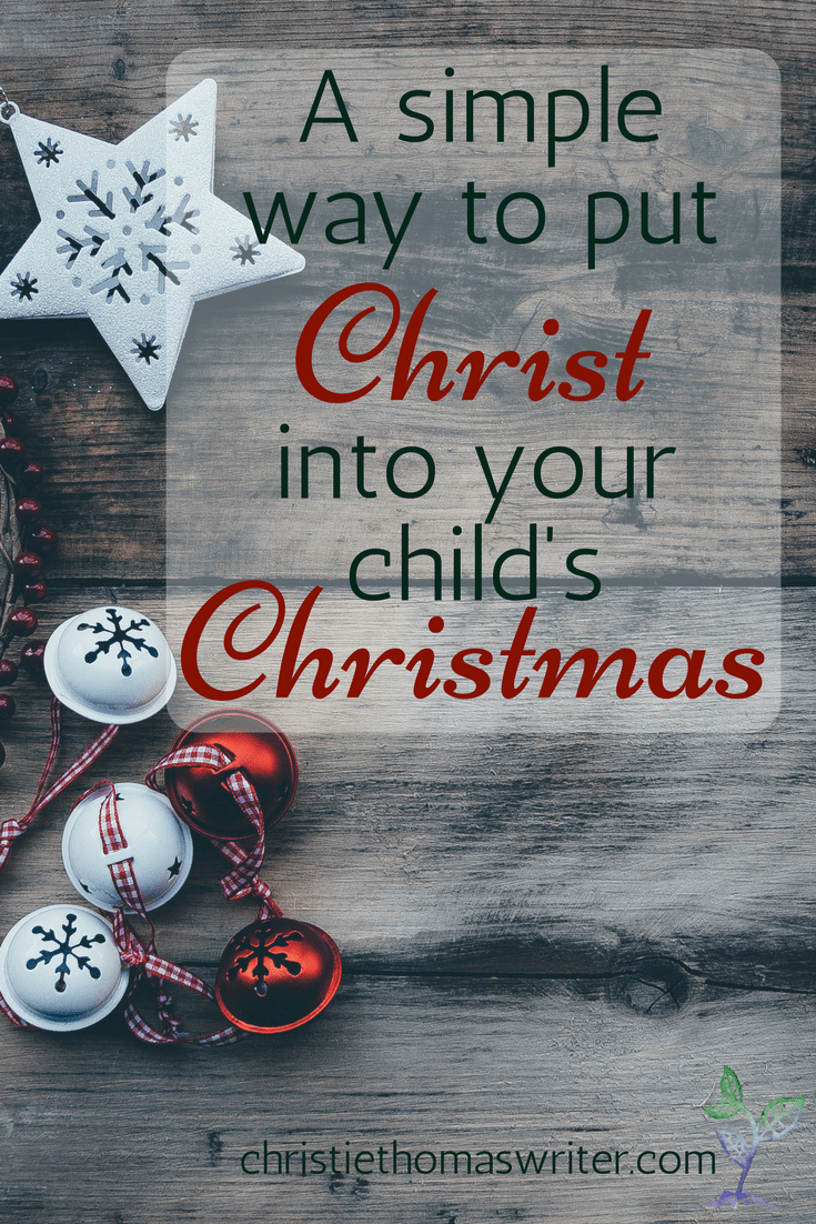 There's so much fun stuff out there for Christmas, but most of it is geared at Santa, elves, and gift-giving. Here's a great resource to help your child put the Christ in Christmas. Bonus: it's quick a easy!