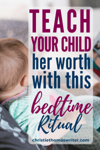 "God loves and accepts your child unconditionally. Here's a great bedtime routine to help her really understand that concept. Plus a review of ""Audrey Bunny"" by Angie Smith. #Christianmom #parenting #kidlit"