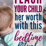 """God loves and accepts your child unconditionally. Here's a great bedtime routine to help her really understand that concept. Plus a review of """"Audrey Bunny"""" by Angie Smith. #Christianmom #parenting #kidlit"""