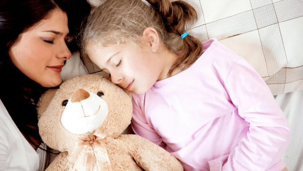 the goal of bedtime routines - to sleep!