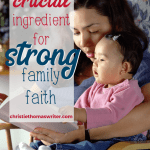 To start creating a new habit you will need more than good intentions. You need motivation from other people!   #Christianparenting #familyfaith #hopegrownfaith #Christianmom #momhacks #habitcha ge