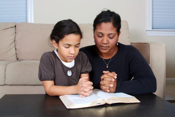 prayer activities for kids to do with parents