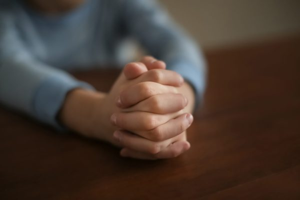 praying at table