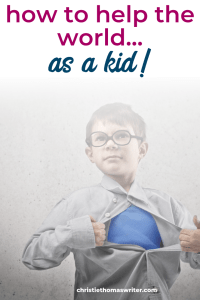 """When your child can sniff out injustice from a mile away, you get the priviledge of raising Godly children who also change the world! Christian kids can have spiritual growth while standing up for the vulnerable. 