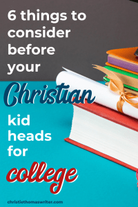 Transitioning a child to college? Don't forget about these 6 crucial areas. It's not all about balancing checkbooks and navigating washing machines! #Christianparenting