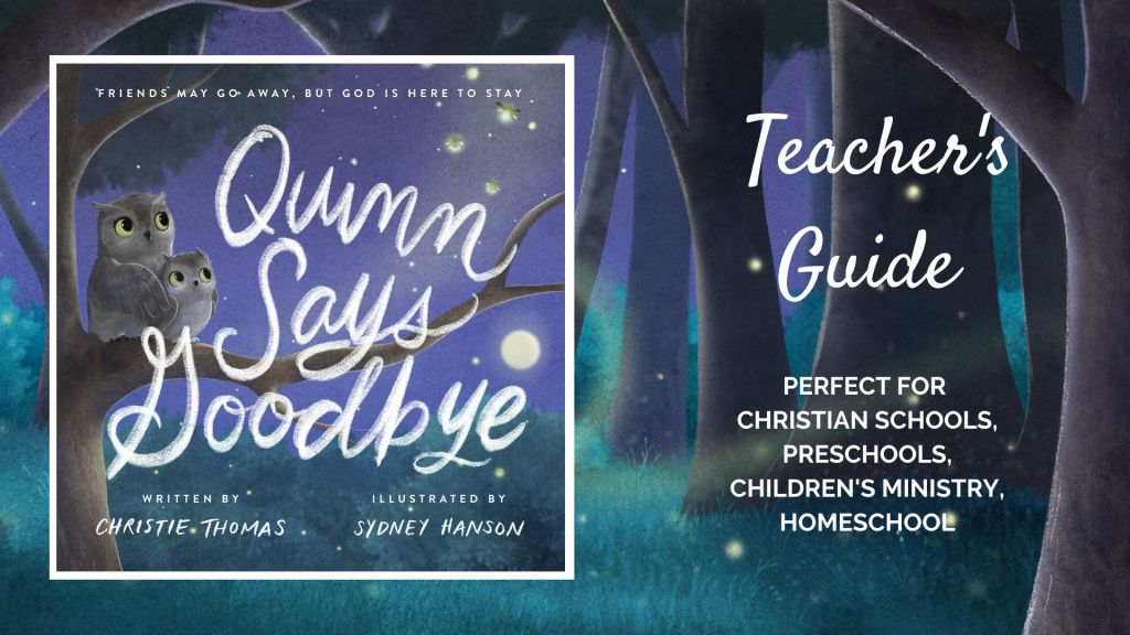 Teacher's guide including object lesson, discussion guide, and craft.
