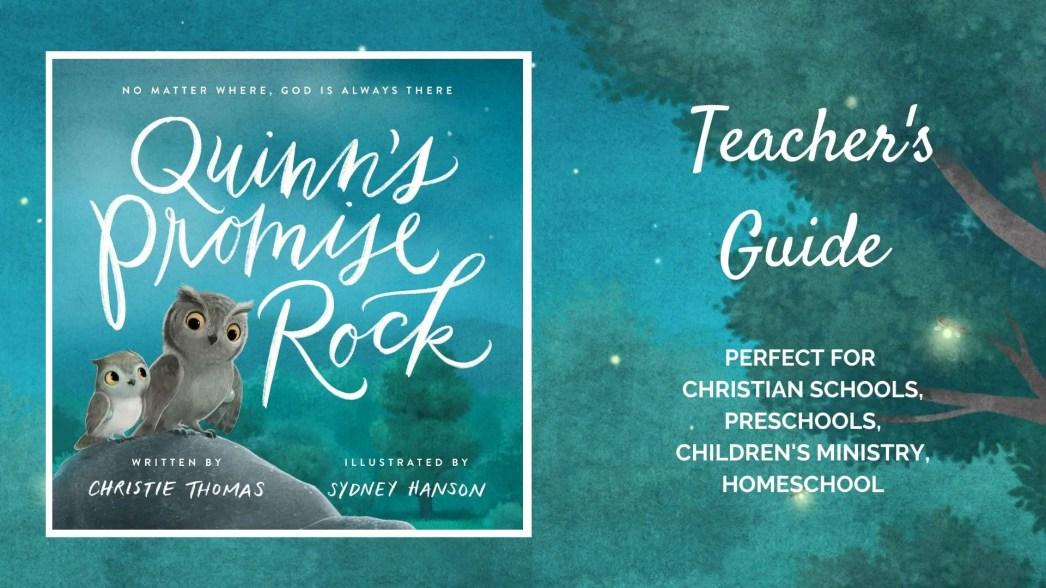 Quinn's Promise Rock teacher's guide