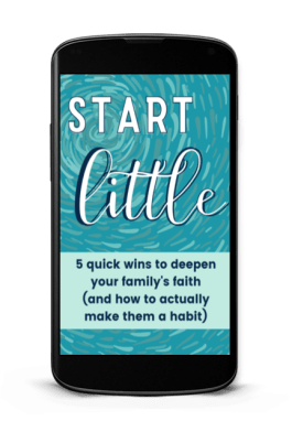 start LITTLE with habits