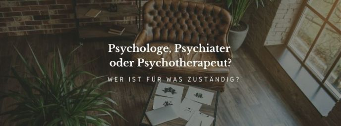 Psychologe Psychiater Psychotherapeut Unterschied