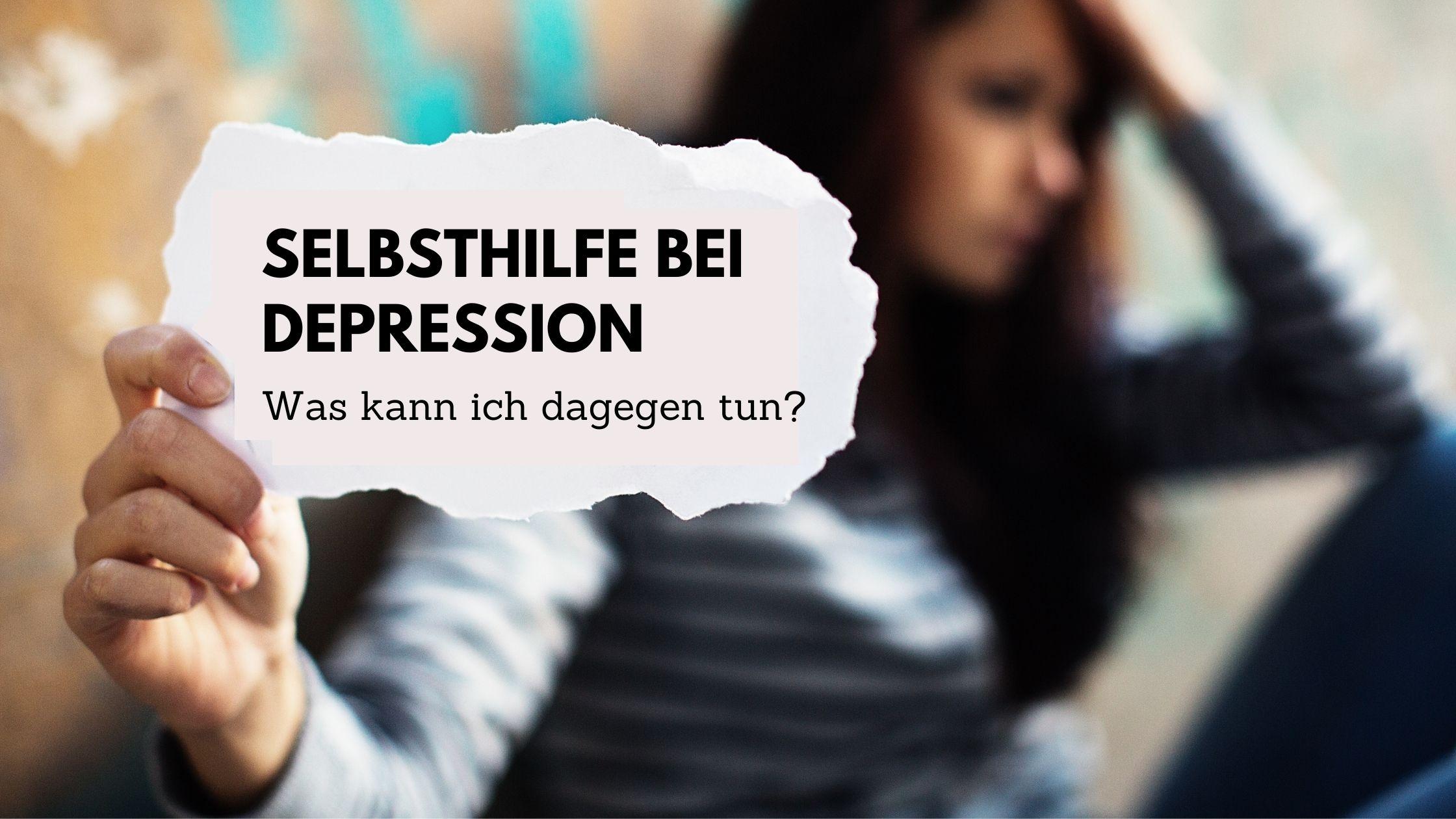 Selbsthilfe bei Depression Bild