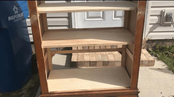 Adding Shelves.